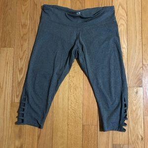 Champion DuoDry Grey Cropped Leggings